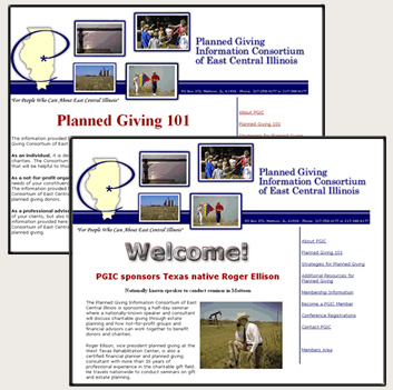 Former Client: Planned Giving Consortium of East Central Illinios
